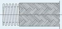 Wąż metalowy - helical hose