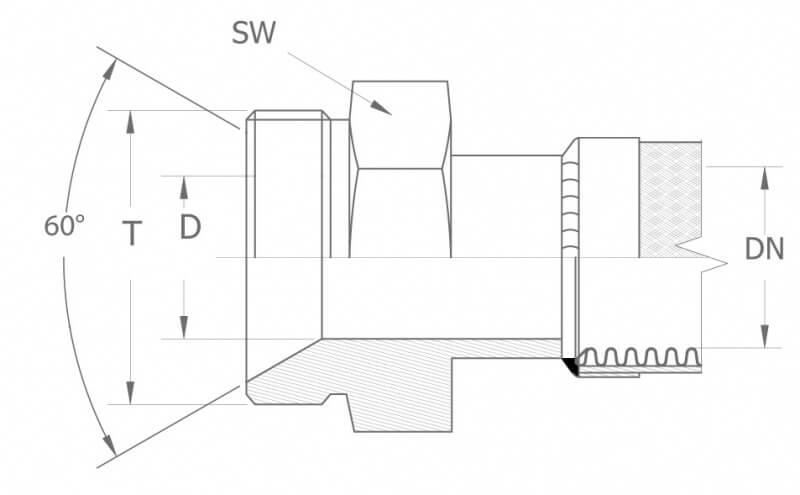 AGM - armatura gwint metryczny - duże rozmiary