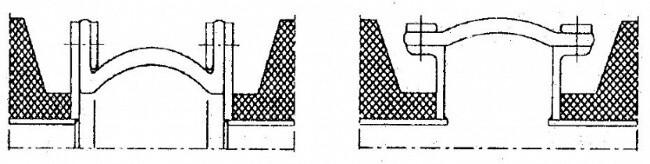 Kompensatory tkaninowe - szkic techniczny
