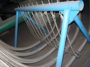 Podpory na węże przemysłowe