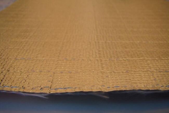 Włókno szklane + folia - temp. pracy do 550 °C