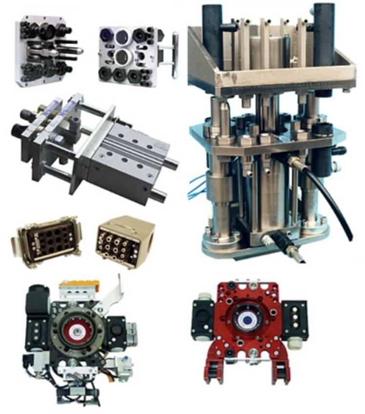 Przykładowe produkty z kategorii multizłącza hydrauliczne