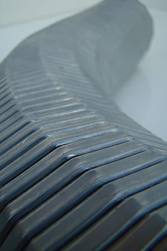 Wąż metalowy do prostowania strugi